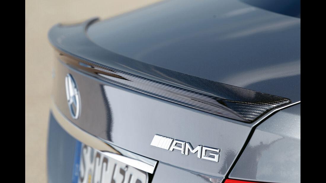 Mercedes C 63 AMG Coupé Performance Package, Heckschürze, Heckspoiler
