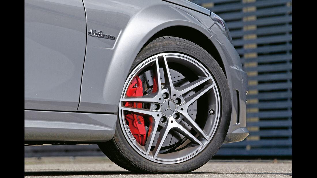 Mercedes C 63 AMG Coupé Performance Package, Rad, Felge, Bremse