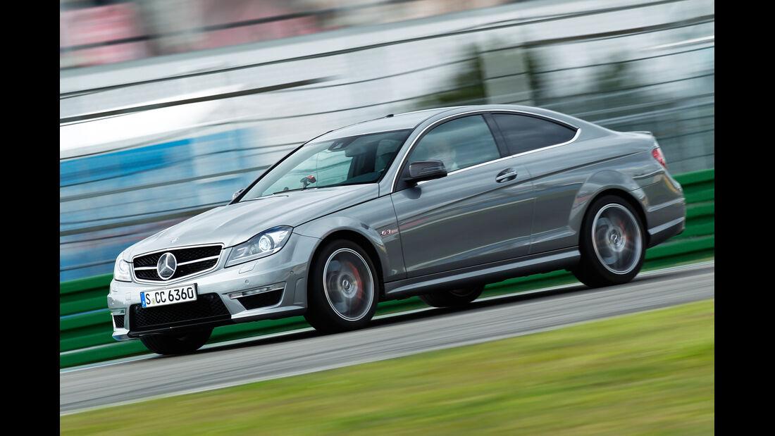 Mercedes C 63 AMG Coupé Performance Package, Seitenansicht