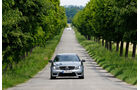 Mercedes C 63 AMG Coupe Performance Package, Frontansicht, Allee