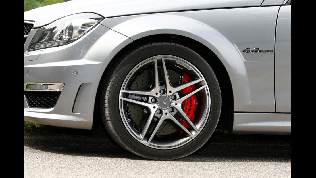 Mercedes C 63 AMG Coupe Performance Package, Vorderrad, Felge
