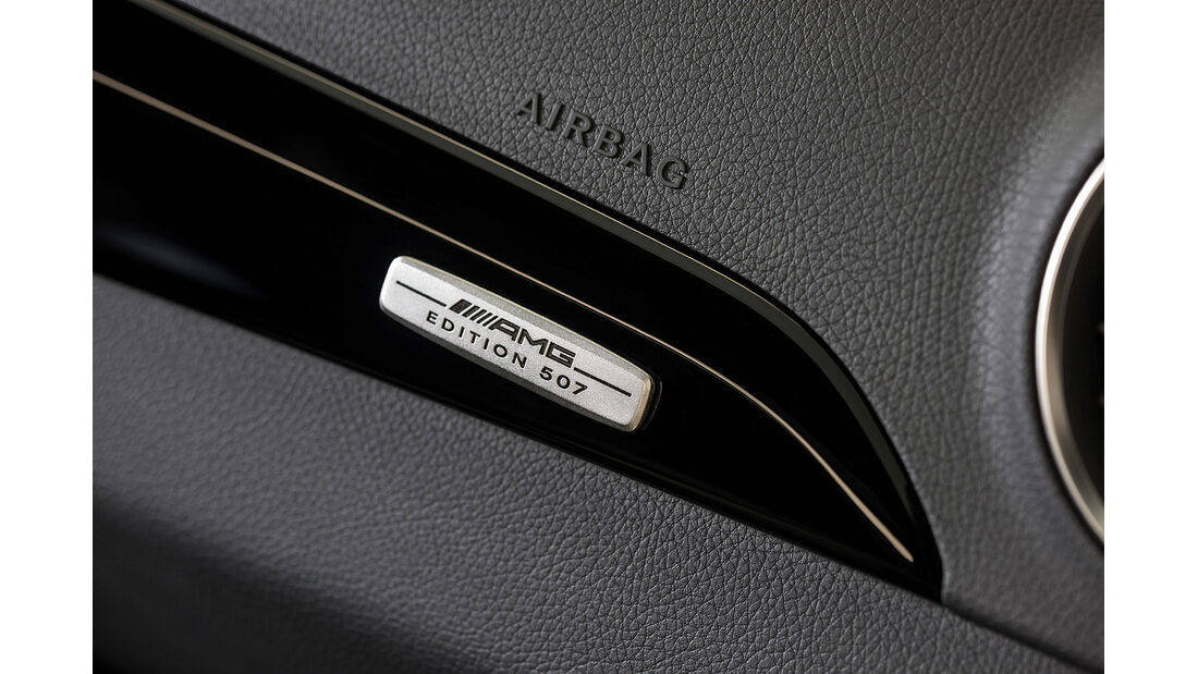 Mercedes C 63 AMG Edition 507, Innenraum, Applikation