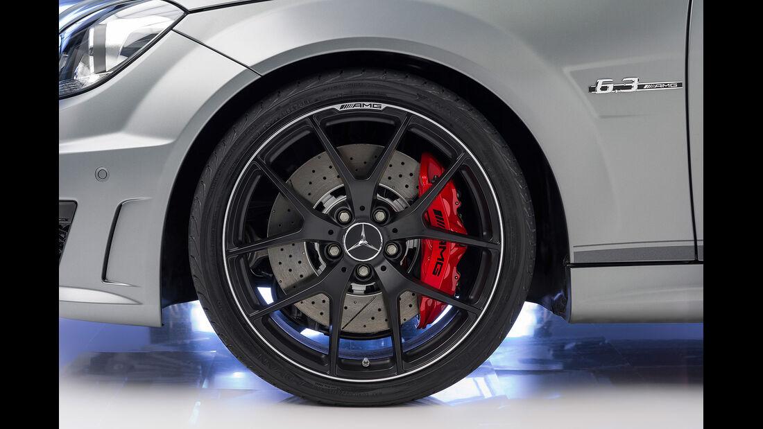 Mercedes C 63 AMG Edition 507, Leichtmetallfelgen, Bremse