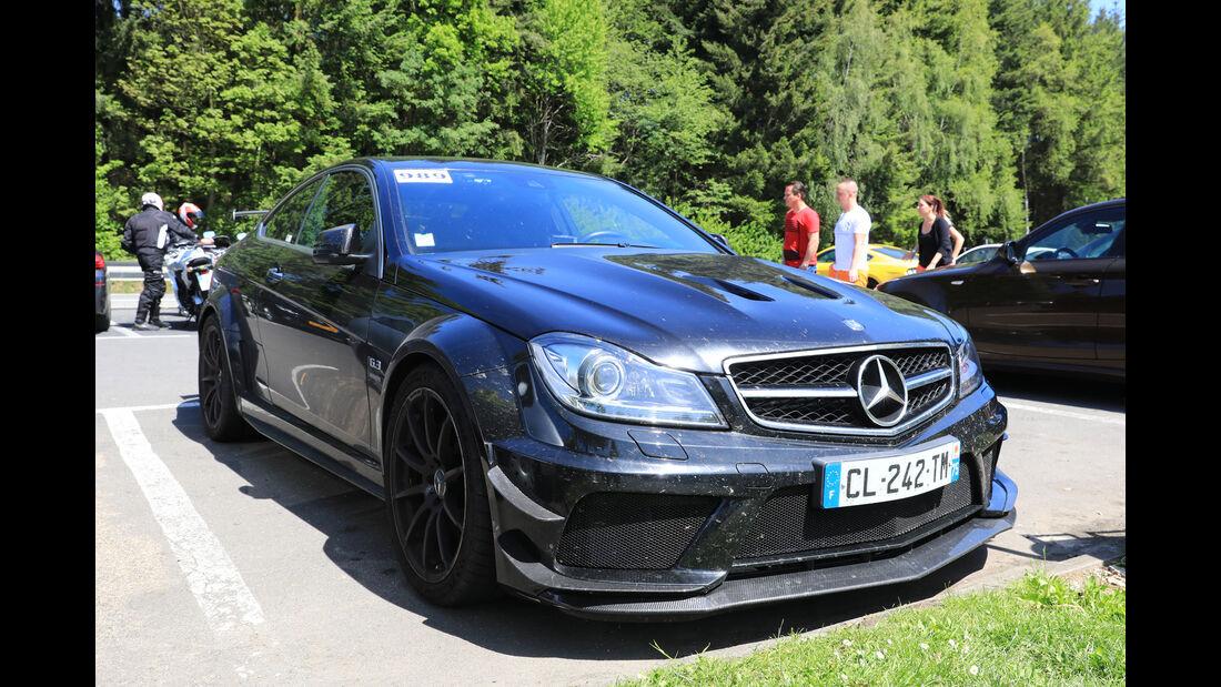 Mercedes C 63 AMG - Fan-Autos - 24h-Rennen Nürburgring 2017 - Nordschleife