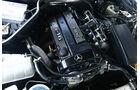 Mercedes C 63 AMG Motorraum
