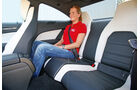 Mercedes C 63 AMG Performance Package, Rücksitz