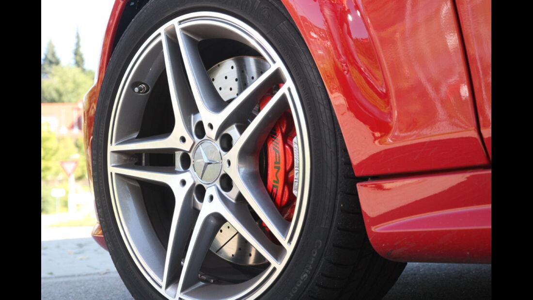 Mercedes C 63 AMG Performance Package, Vorderrad, Felge
