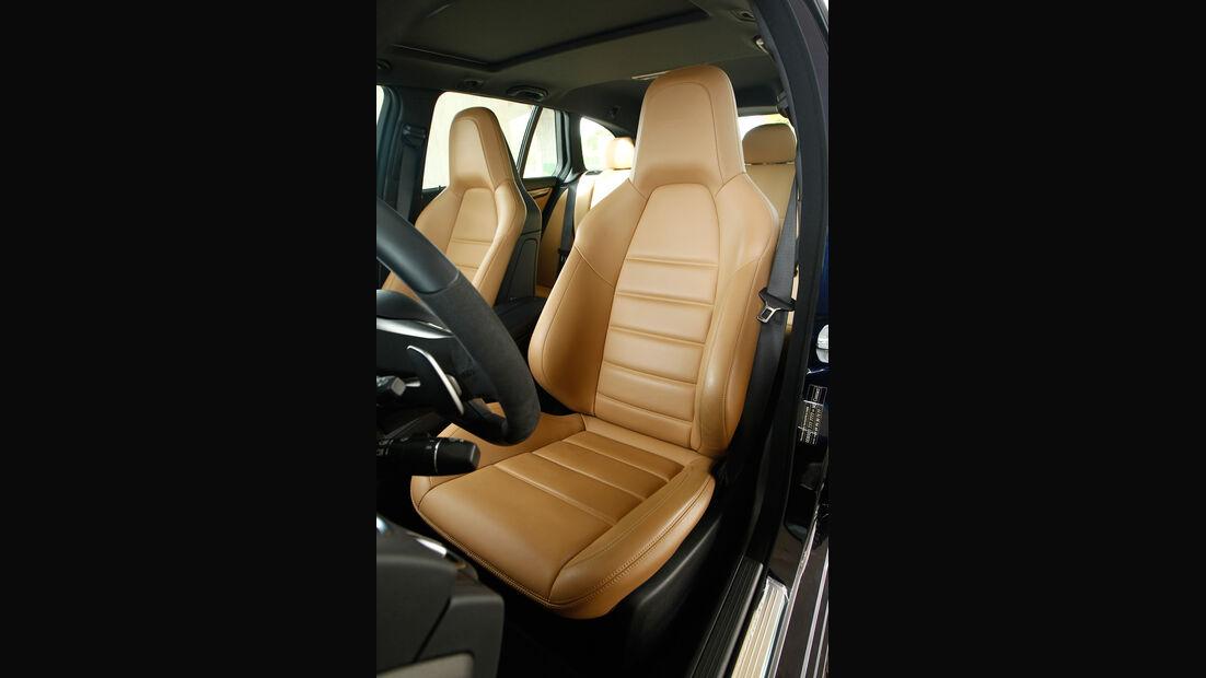 Mercedes C 63 AMG T, Fahrersitz