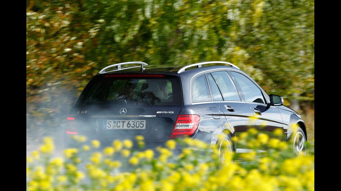 Mercedes C 63 AMG T, Heckansicht