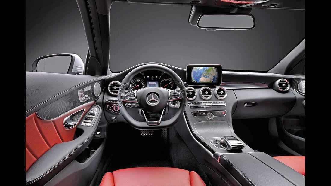 Mercedes C-Klasse 2014, Cockpit