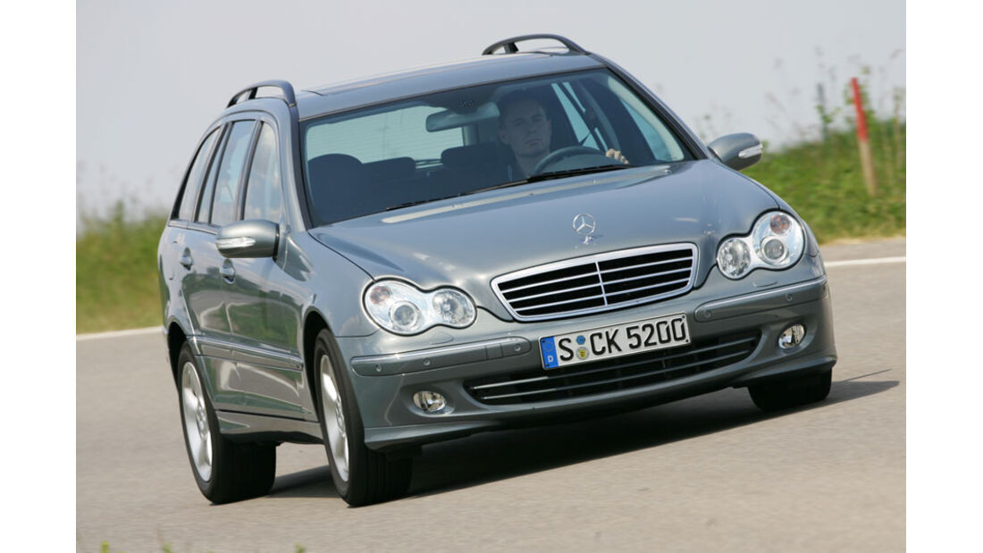 Mercedes C-Klasse 4Matic