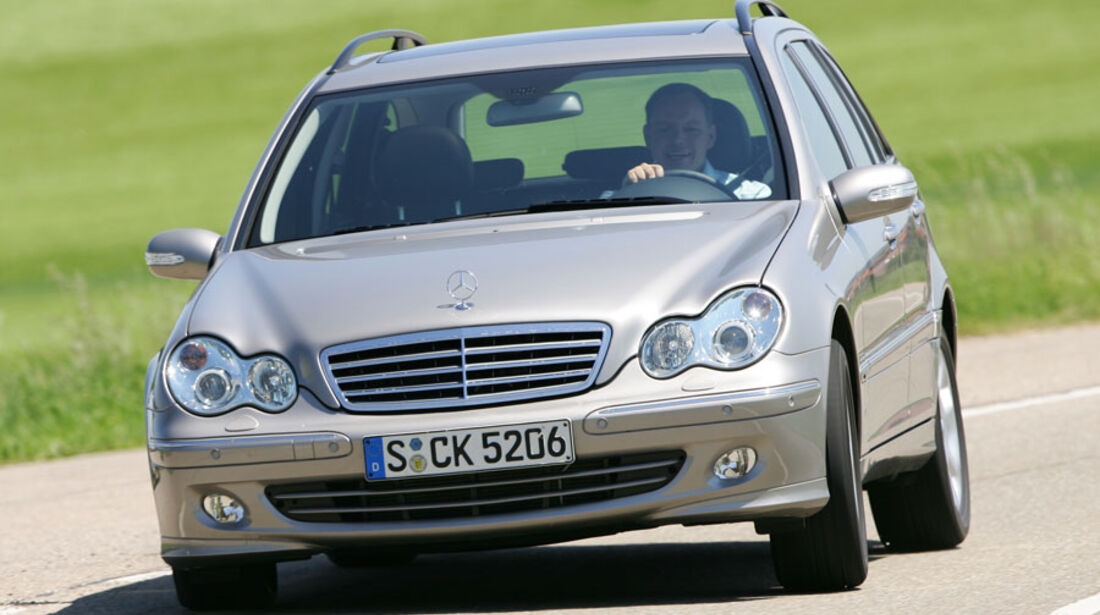 Mercedes C-Klasse 4Matic