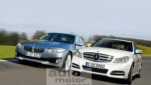 Mercedes C-Klasse, BMW 3er
