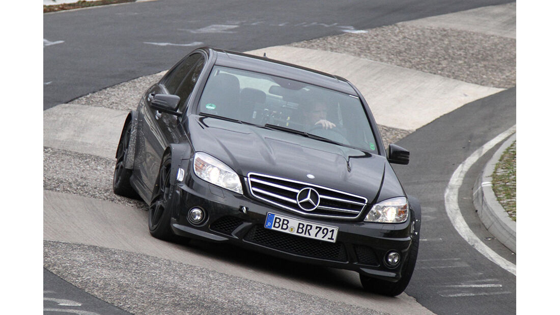 Mercedes C-Klasse Black Series Erlkönig