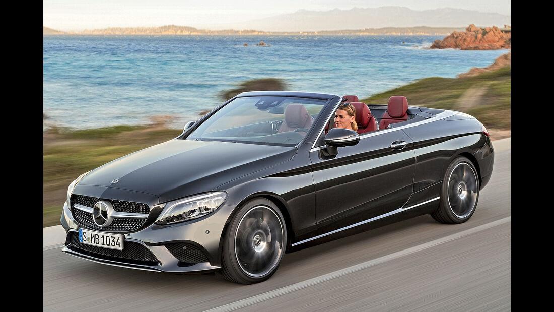 Mercedes C-Klasse Cabrio, Best Cars 2020, Kategorie H Cabrios
