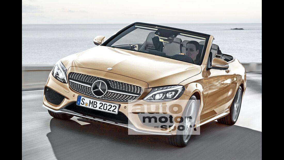 Mercedes C-Klasse Cabrio, Frontansicht