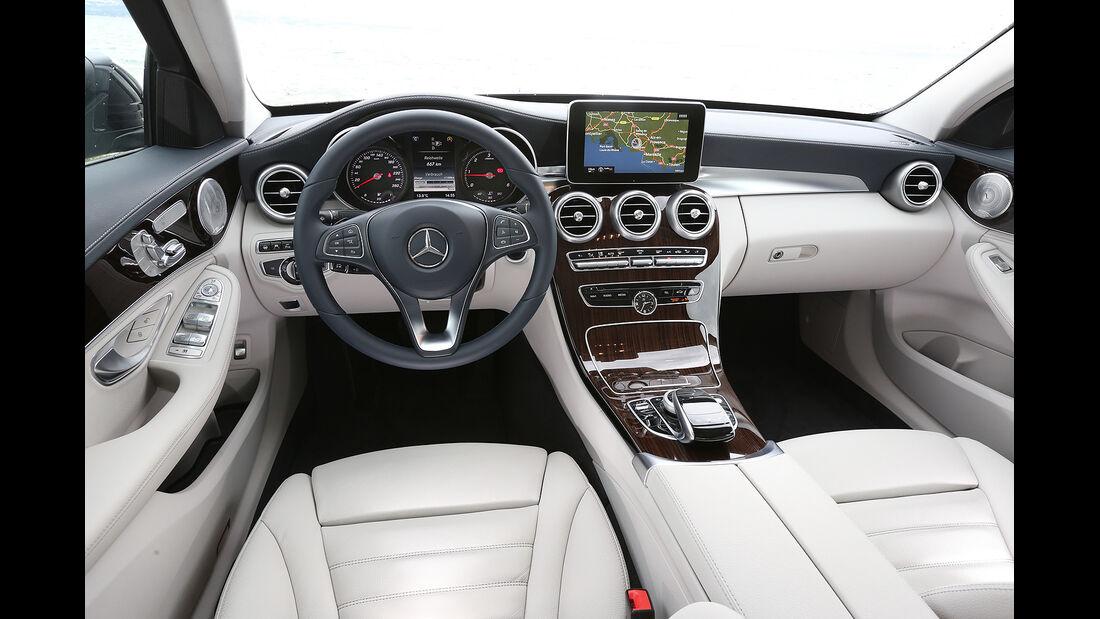 Mercedes C-Klasse, Cockpit, Innenraum