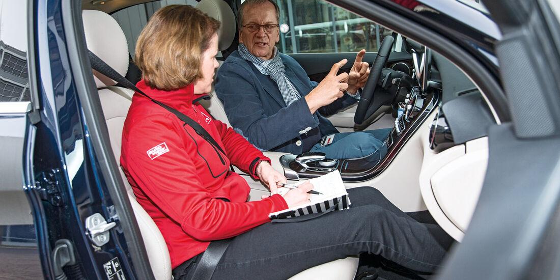 Mercedes C-Klasse, Cockpit, Michael Krämer