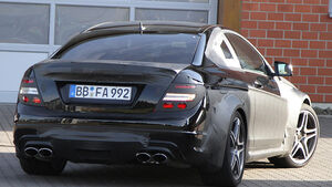 Mercedes C-Klasse Coupé Black Series Erlkönig