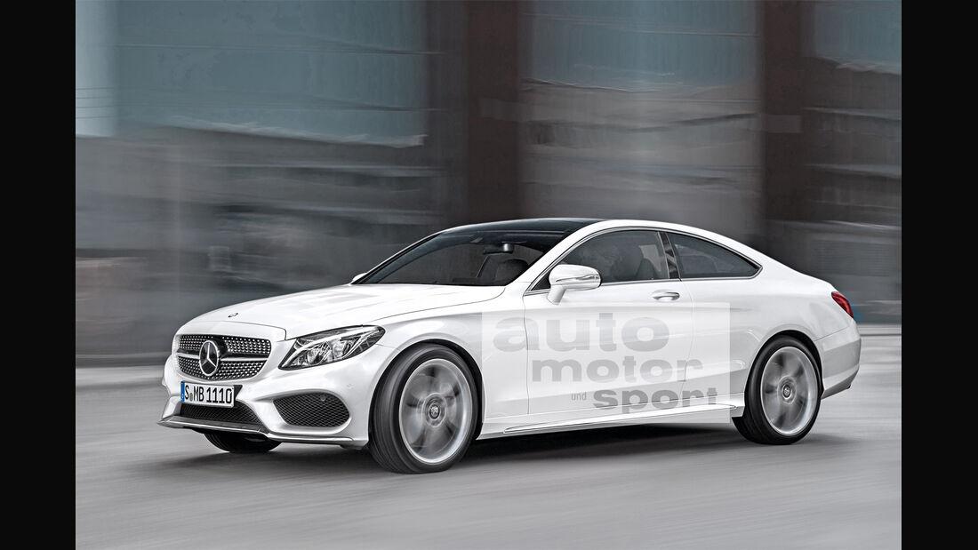 Mercedes C-Klasse Coupé, Seitenansicht