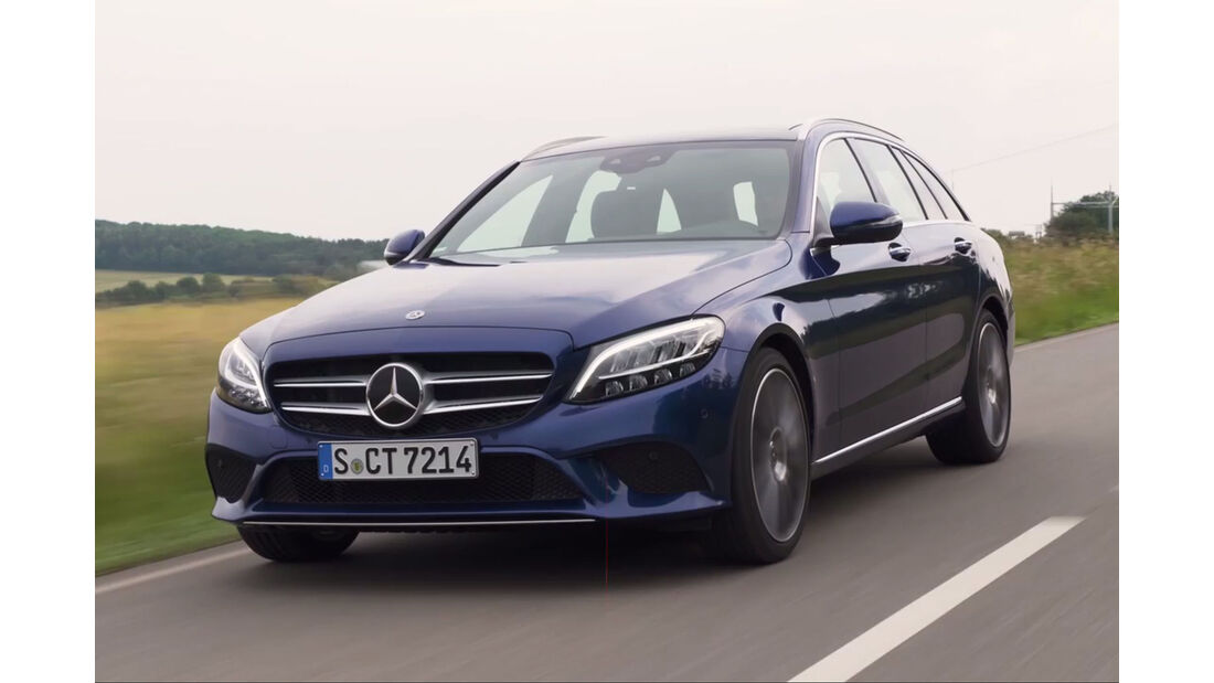 Mercedes C-Klasse Facelift (2018)