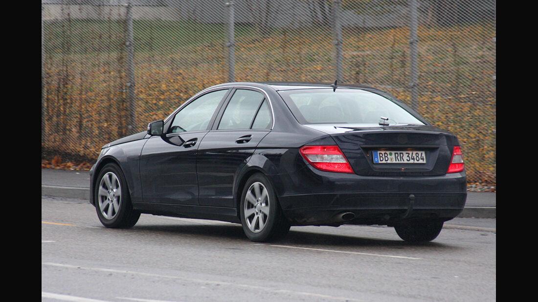Mercedes C-Klasse Facelift Erlkönig
