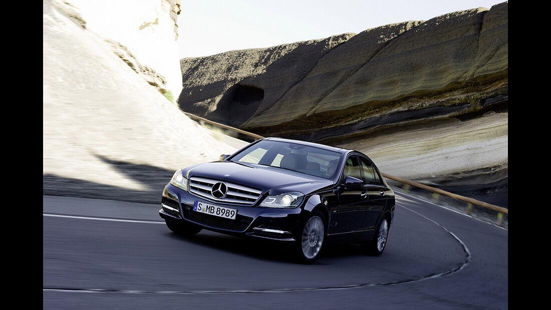 Mercedes C-Klasse Facelift, Limousine