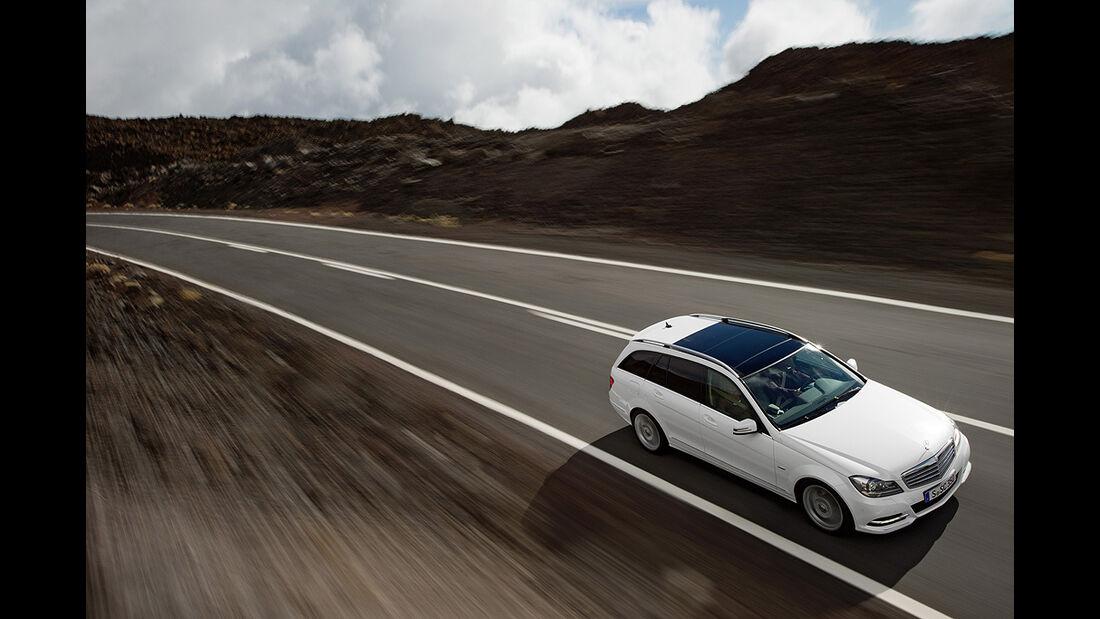Mercedes C-Klasse Facelift, T-Modell