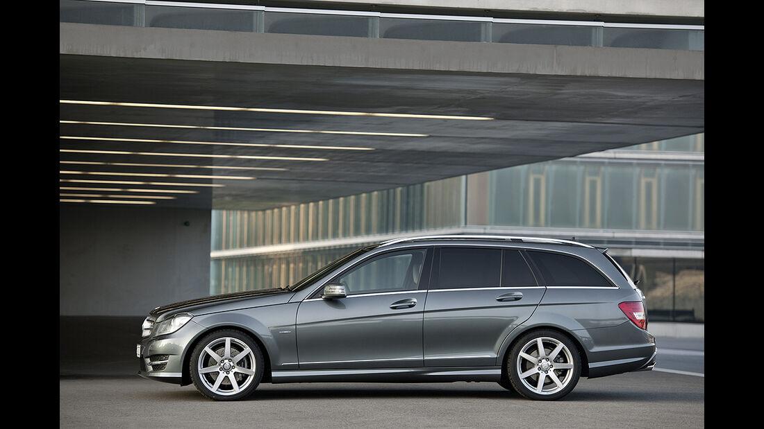 Mercedes C-Klasse Facelift, T-Modell, Avantgarde