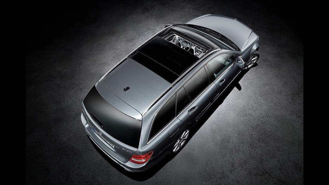 Mercedes C-Klasse Facelift, T-Modell, Avantgarde, Glasdach