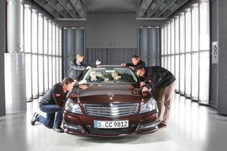 Mercedes C-Klasse, Frontansicht