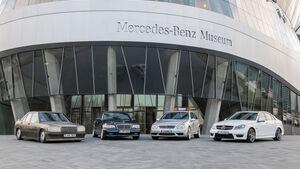 Mercedes C-Klasse, Generationen