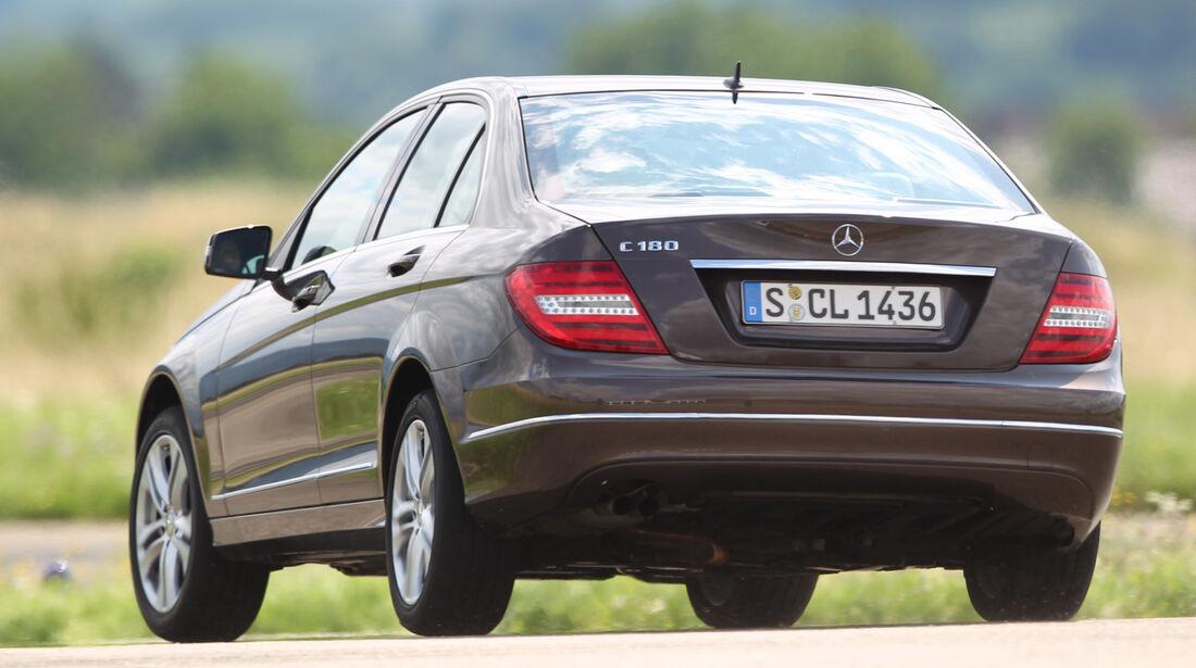 Mercedes C-Klasse, Heckansicht