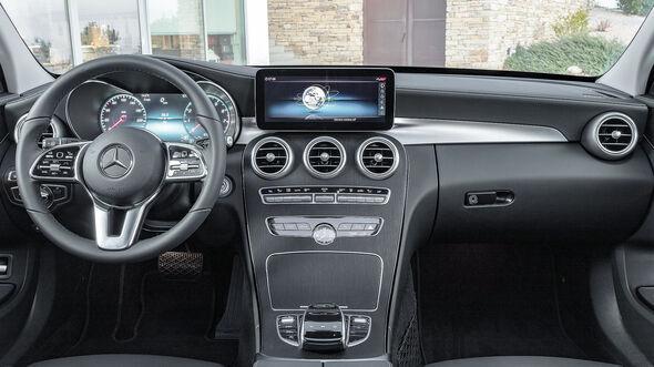 Mercedes C-Klasse Interieur Cockpit Facelift (2018) W205