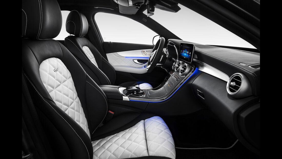 Mercedes C-Klasse Interieur Designo Facelift (2018) W205
