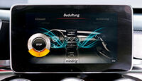 Mercedes C-Klasse, Kaufberatung, Bildschirm