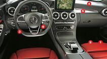 Mercedes C-Klasse, Kaufberatung, Cockpit