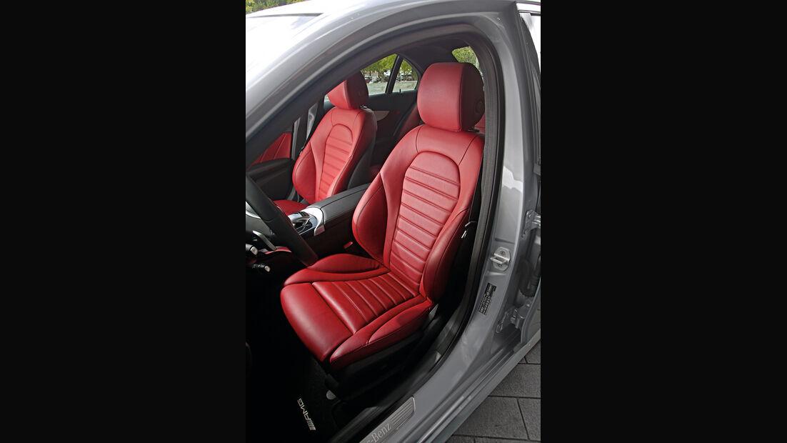 Mercedes C-Klasse, Kaufberatung, Fahrersitz