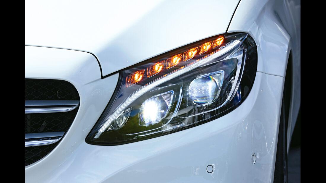 Mercedes C-Klasse, Kaufberatung, Frontscheinwerfer