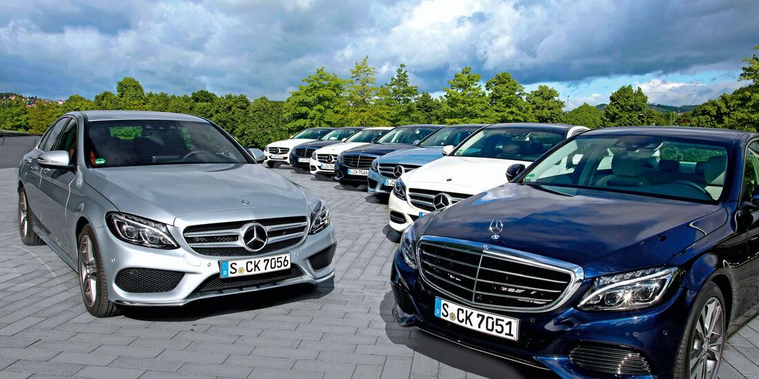 Mercedes C-Klasse, Kaufberatung, Modellvarianten