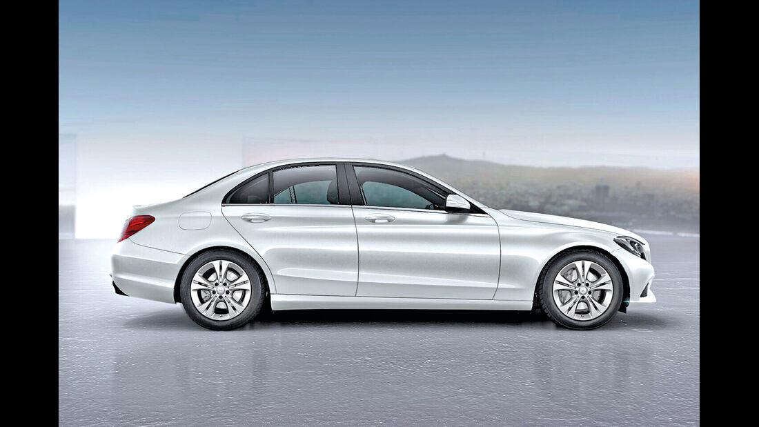 Mercedes C-Klasse, Kaufberatung, Seitenansicht