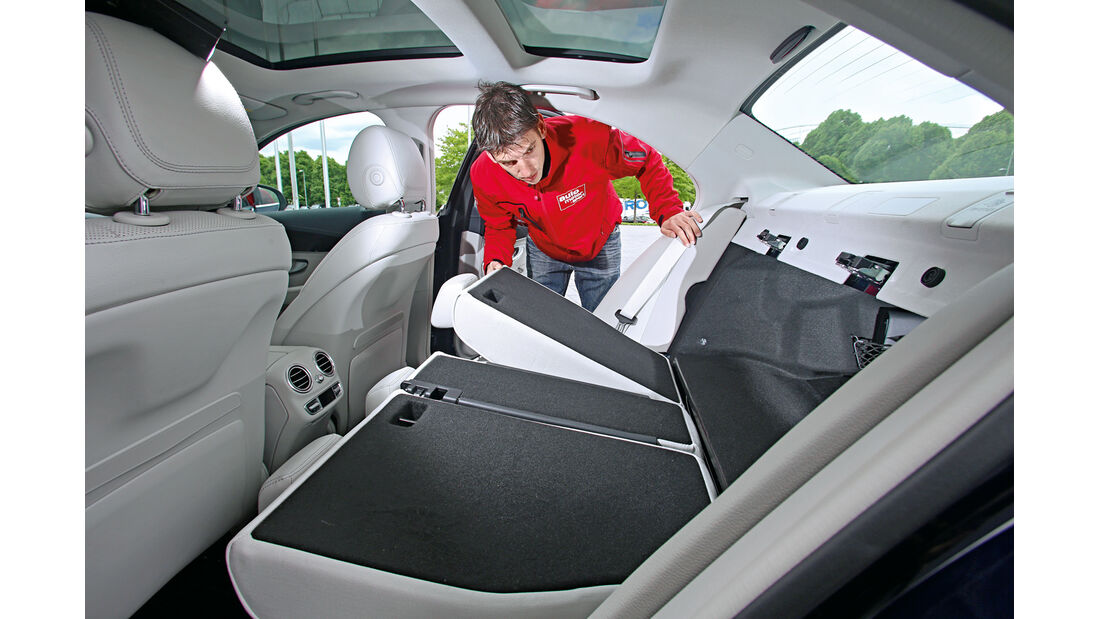Mercedes C-Klasse, Kaufberatung, Sitze, Umklappen
