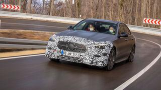 Mercedes C-Klasse Mitfahrt W206 (2021) Exterieur Front