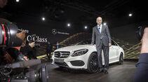 Mercedes C-Klasse Premiere Detroit Kelly Rowland Dieter Zetsche