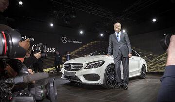 Mercedes C-Klasse Premiere Detroit Kelly Rowland