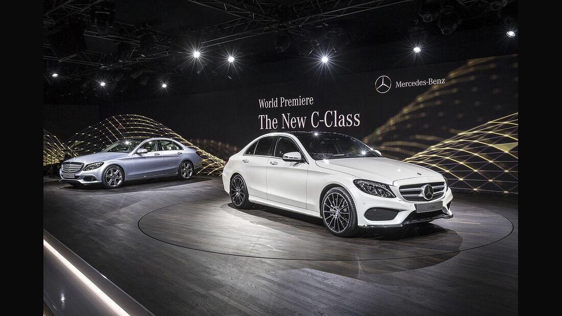 Mercedes C-Klasse Premiere Detroit