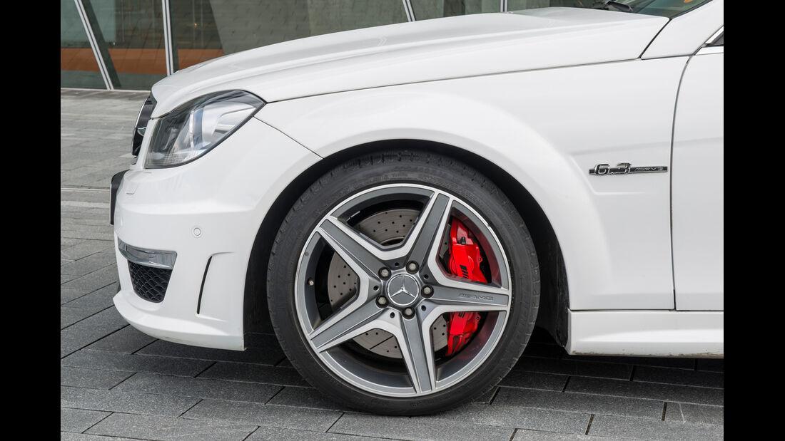 Mercedes C-Klasse, Rad, Felge, Bremse