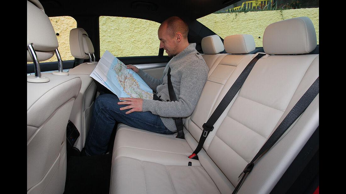 Mercedes C-Klasse, Rückbank, Rücksitz
