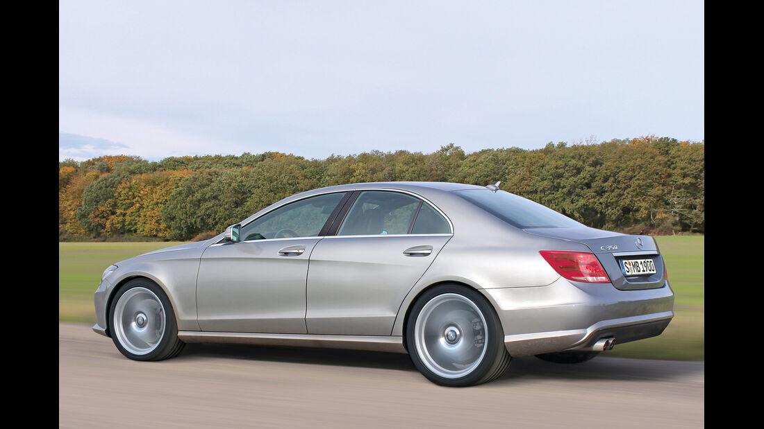 Mercedes C-Klasse, Seitenansicht