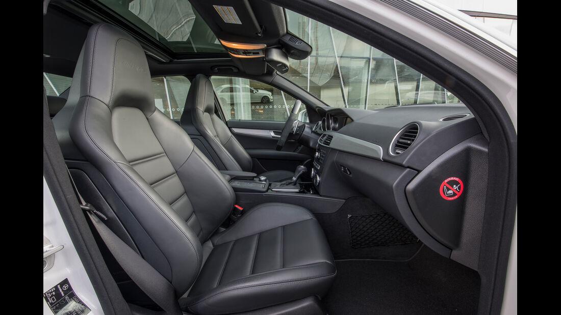 Mercedes C-Klasse, Sitze, Interieur